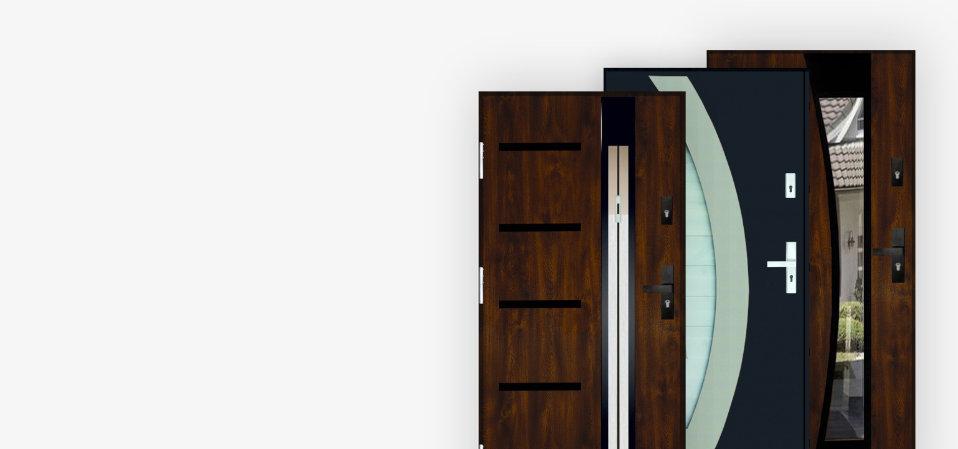 Drzwi stalowe 72mm TERMO MAX UD 1,1
